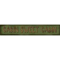 Camping Freebies Picture Helpers - Cabin Sweet Cabin logo 2