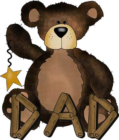 Cabin Fever - Bear with Dad logo