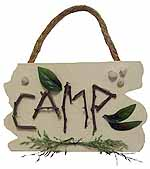 Camping Crafts - Nature Sign